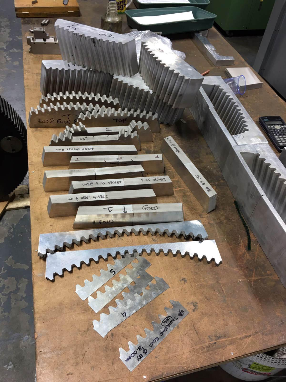 Power Press Drive Shaft Repair - 01