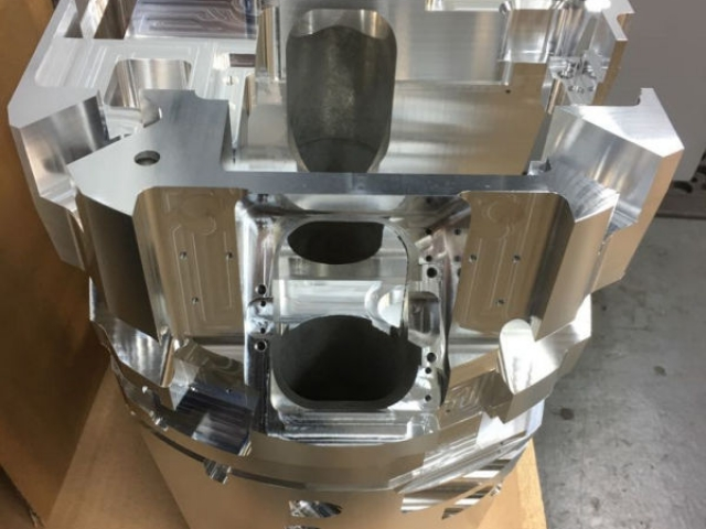 Spark Erosion - 5-Axis Aluminum Component