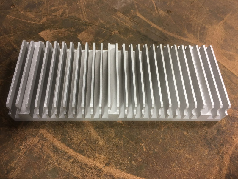 Wire Erosion - Heat Sink Prototype