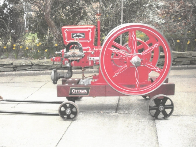 Ottawa Engine fully restored